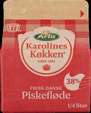 Karolines Køkken® Piskefløde 38% 250 ml