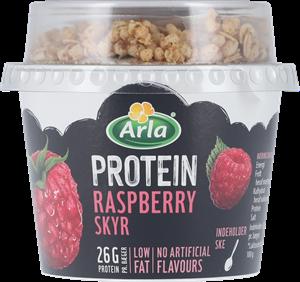 Arla® Protein Skyr hindbær med müsli 250 g