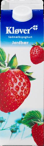 Kløver® Yoghurt jordbær 3,1% 1000 g