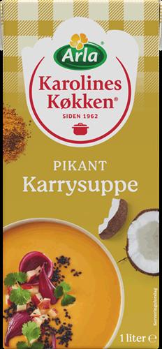 Karolines Køkken® Pikant karrysuppe 4% 1 l