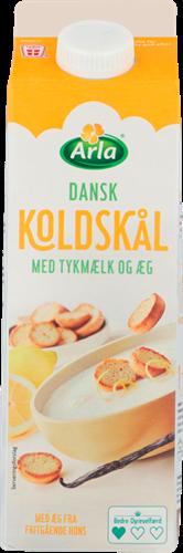Koldskål med tykmælk og æg 2,2%