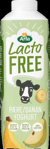 Arla® Laktosefri Yoghurt pære/banan 1,4% 1000 g