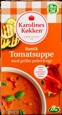 Karolines Køkken® Rustik tomatsuppe 3% 500 ml