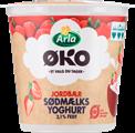 Sødmælksyoghurt jordbær 3,1% 150 g