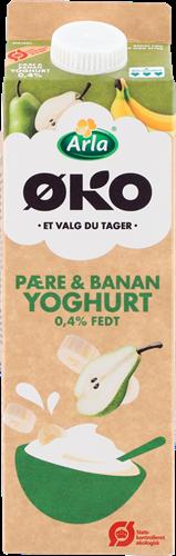 Arla® ØKO Yoghurt pære&banan 1L 1000 g