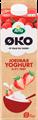 Yoghurt jordbær 0,4% 1000 g