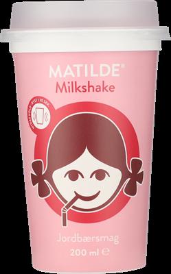 Matilde® Milkshake jordbær 1,3% 200 ml