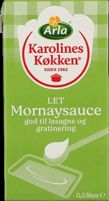 Karolines Køkken® Let Mornaysauce 4% 500 ml