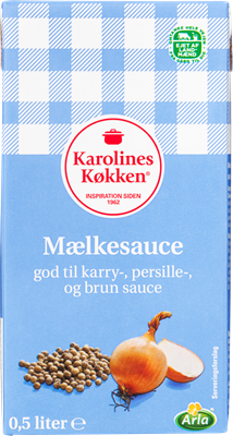 Karolines Køkken® Hvid mælkesauce 4% 500 ml