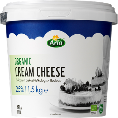 Arla® Pro ORGANIC CREAM CHEESE 70+ 1.5 kg