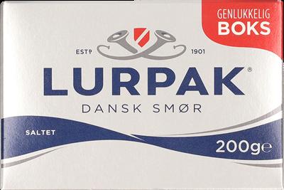 Dansk smør i boks