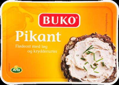 Arla Buko® Flødeost pikant 65+ 200 g