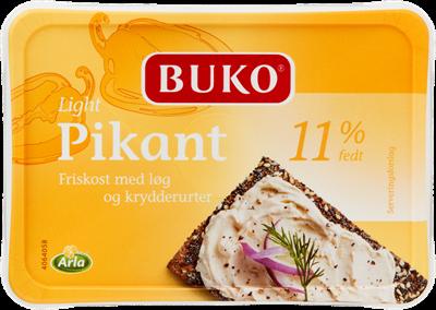 Arla Buko® Flødeost pikant 40+ 200 g