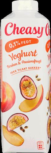 Yoghurt fersken/passionsfrugt 0,1%