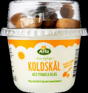 Arla® Koldskål tykmælk/æg & kammerjunker 4,2% 224 g