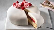 White lady tårta