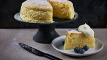 Japanese cotton cheesecake - Japansk cheesecake