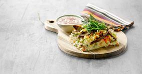 Grov paté med ris og rodfrugter