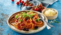 Tomatsauce med 3 slags tomat