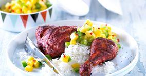 Tandoori kylling med mangosalat