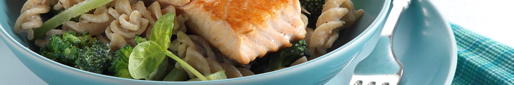 Broccoli + Fisk og skaldyr