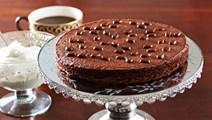 Cremet kaffekage