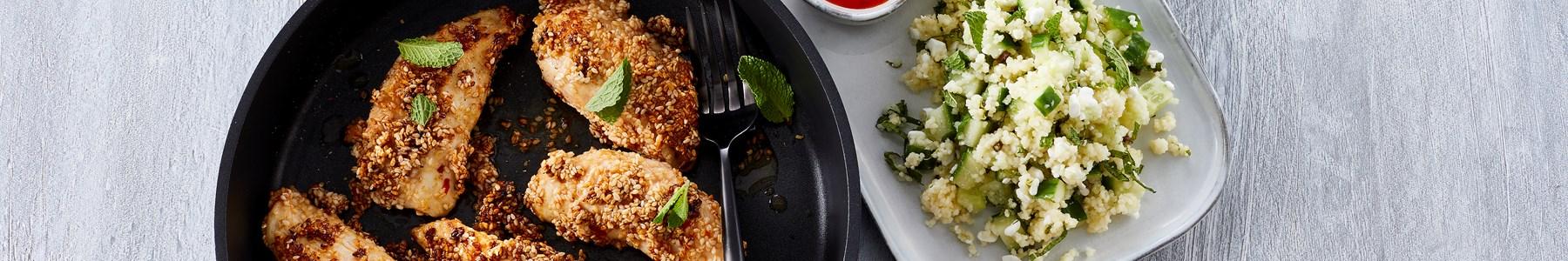 Hurtig + Salater + Kyllingefilet + Sommer