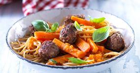 Rustik spaghetti bolognese