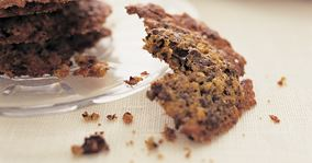 Havre- og chokoladecookies